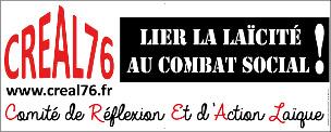 Banderole creal lier la laicite au combat social 304x122