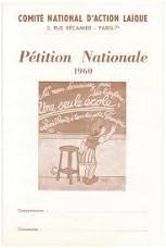 Cahier petition laique 1959 1960 228x153